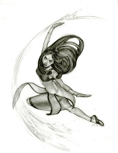 Katara's sketch