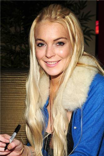 Lindsay Lohan Spends Friday Bowling with the Family