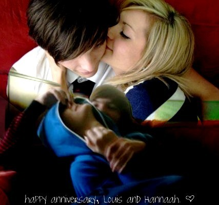 Louis & Hannah = True Love (Happy 1st Annerversary) 100% Real :) x