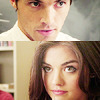 Lucy Hale photo containing a portrait called Lucy Hale&Ian Harding