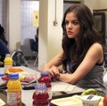 Lucy Hale as Aria Montgomery in PLL