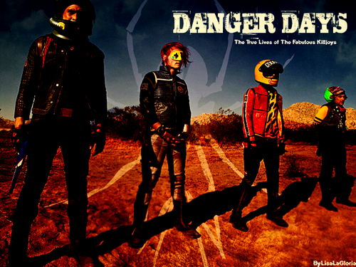 MCR Danger Days:) The gangs all here:)