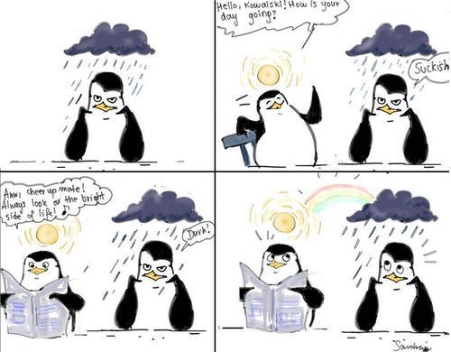 Mr Sunny & Mr Cloudy