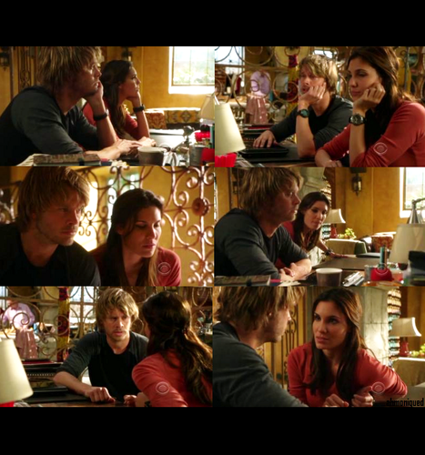 NCIS:LA | 2x18 - Harms Way | Deeks and Kensi Picspam