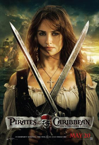Angelica official POTC4 picture!