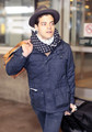 Peter Facinelli and Rami Malek Arriving in Vancouver - twilight-series photo