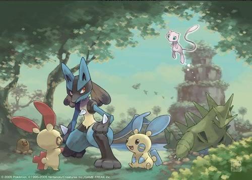 Pokemon দেওয়ালপত্র