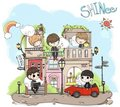 SHINee Hello-Chibi Version