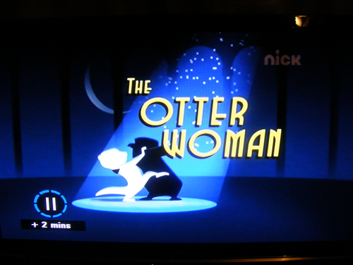 SNEAK PEAK!: The Otter Woman Headline