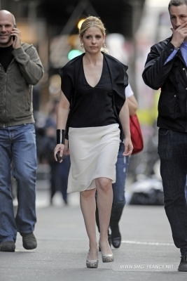 Sarah filming Ringer - March 18th