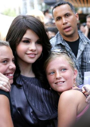Selena Gomez And fans