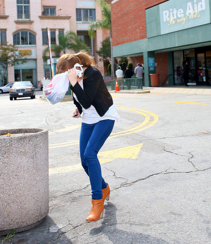 Shopping at Rite Aid in Beverly Hills (17th March 2011)