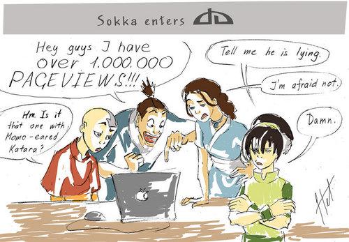 Sokka enters DA