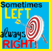 Sometimes Left - debate icon