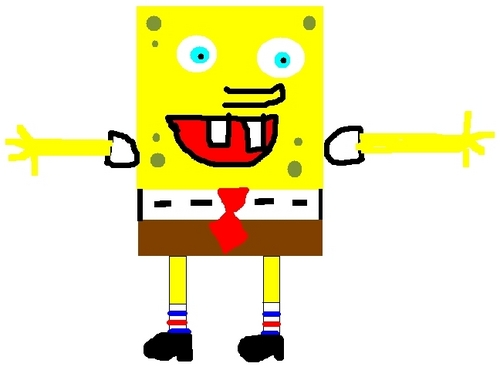 Spongebob Painting
