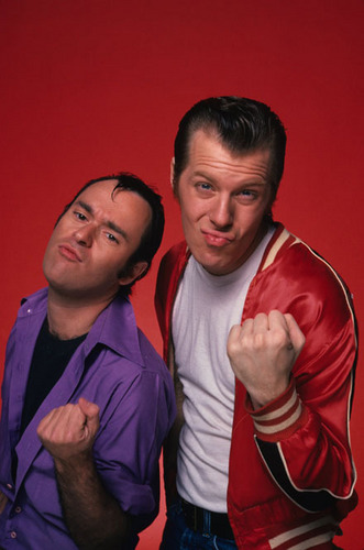Squiggy and Lenny