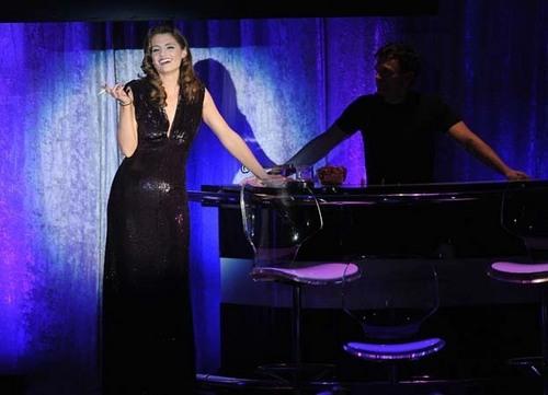 """Stana Katic at """"A Night At Sardi's"""""""