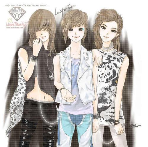 Shinee wallpaper titled Taemin Lucifer Days Fan Art