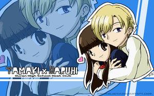 TamakiXHaruhi cute imej