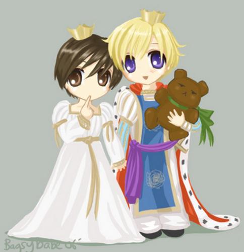 TamakiXHaruhi cute প্রতিমূর্তি