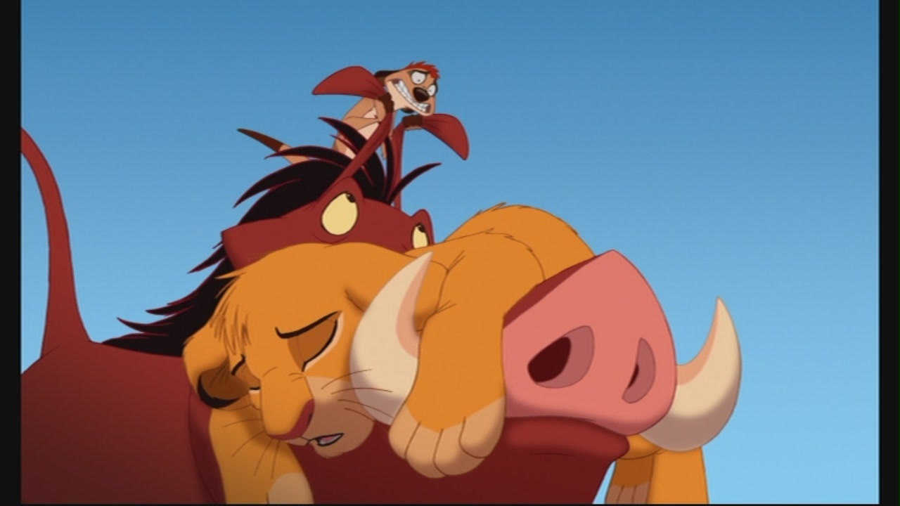 disney images the lion king 1 u00bd hd wallpaper and background