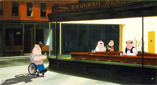 family guy wallpaper entitled Too Cool