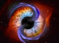 Universe's eye - eyes photo