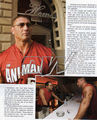 WWE Smackdown Magazine - November 2005 - batista photo