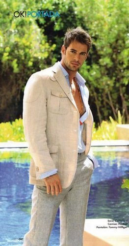 William Levy Gutierrez achtergrond with a business suit called William Levy