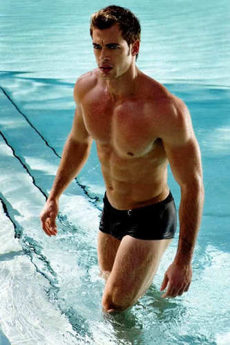 William Levy Gutierrez wallpaper probably with swimming trunks, a hunk, and a bather titled William Levy
