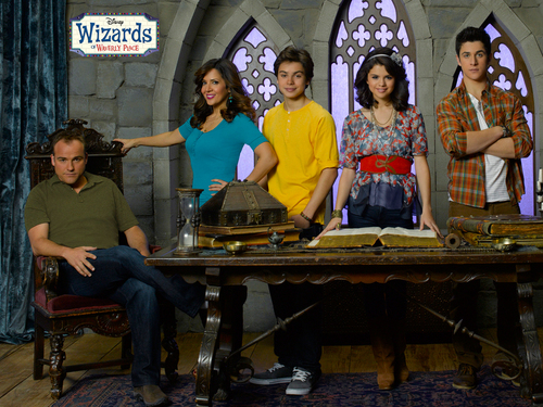 Wizards of Waverly Place Season 4 Cast fond d'écran par dj!!!