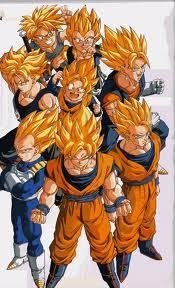all super saiyans