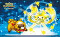 bidoof and jirachi - legendary-pokemon photo