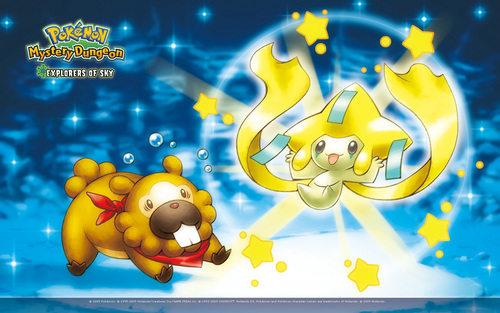 bidoof and jirachi