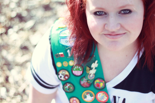 girl scout veteran self portraits Von paniclover21