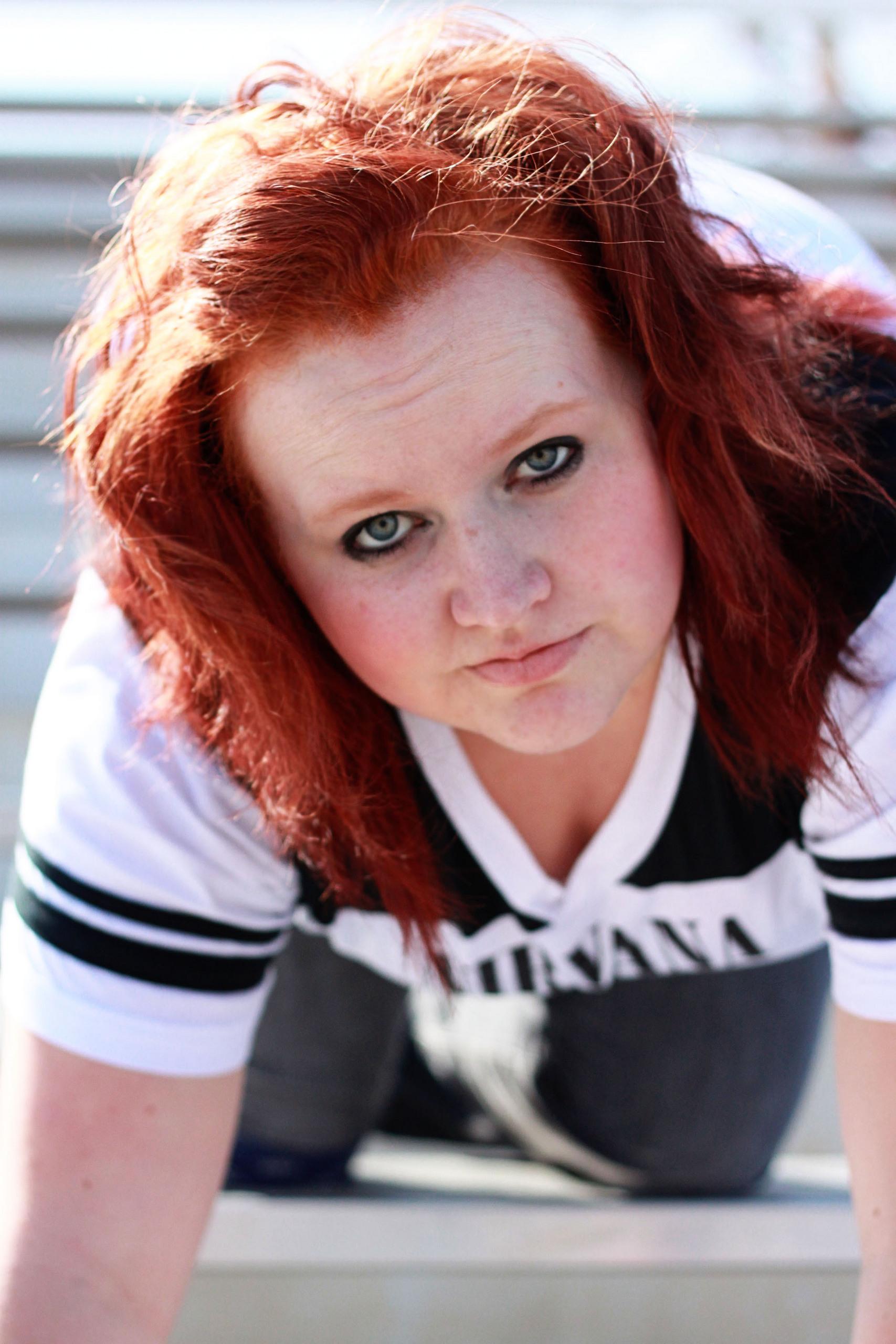 girl scout veteran self portraits por paniclover21