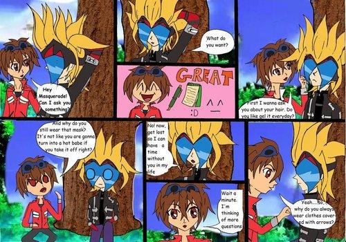 masquerade comic XD part 1