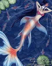 me as a mermaid.