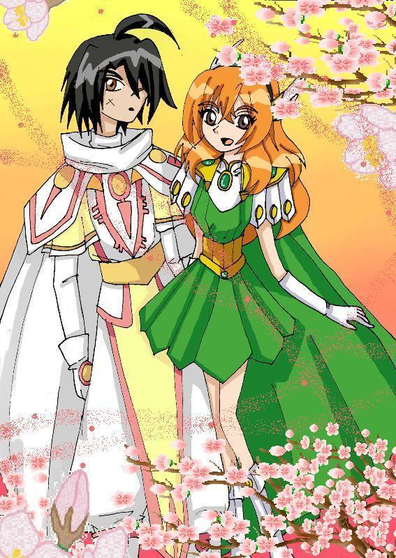In Bakugan New Vestroia is Shun dating Alice