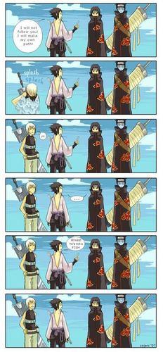 sasuke and Itachi (funny)