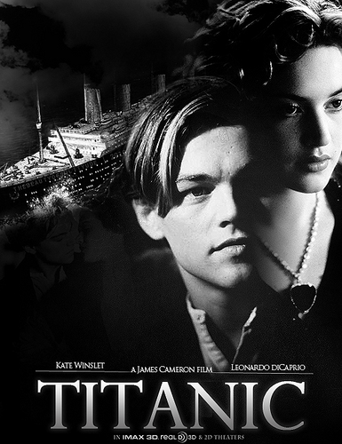 泰坦尼克号 rose and jack
