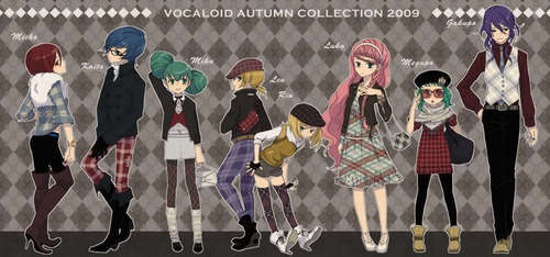vocaloid new fashion!!