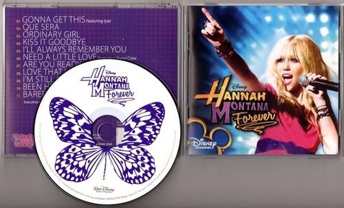 'Hannah Montana Forever' Soundtrack Booklet