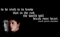 'The World Will Break Your Heart' - the-black-donnellys wallpaper