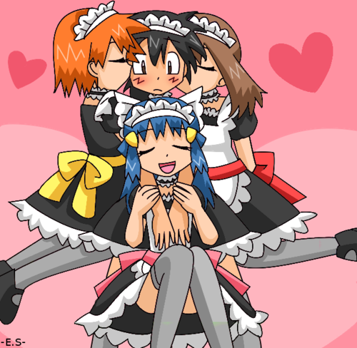 ..They all wanna be ash's girlfreind >>