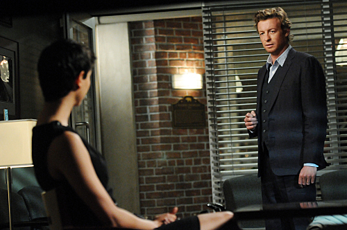 The Mentalist wallpaper containing a business suit and a suit entitled 3x19 Every Rose Has Its Thorn PROMO PHOTOS