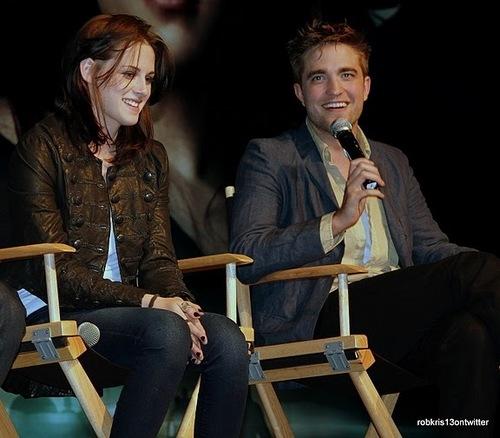 Amazing new 照片 of Kristen and Robert