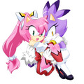 Amy and blaze - amy-rose fan art