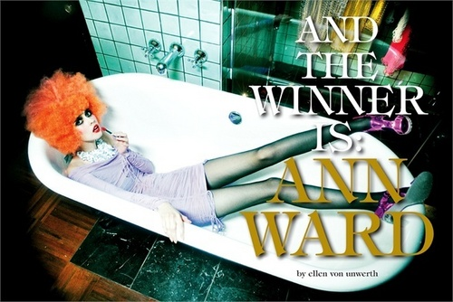 Ann Ward editorial