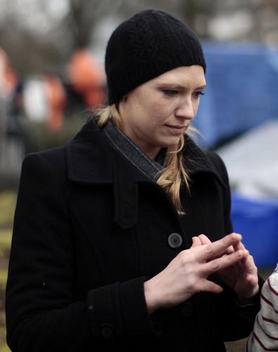 Anna On The Set